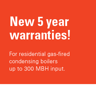 New 5 year warranties!